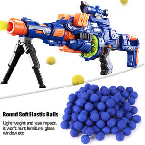 Elastic-Balls Bullet-Blue Outdoor Rival for Zeus Apollo-Toy Compatible-Gun Sports Training