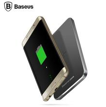 Baseus Ци Беспроводное Зарядное Устройство Быстрой Зарядки Катушки Pad Для Samsung s7 s6 край Nexus 6 5 4 HTC E9 8X LG Ци Беспроводной Телефон зарядное устройство