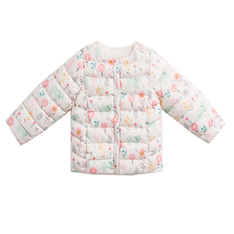 Light Feather Winter Clothes For Baby,fashion Design Girl Winter Jackets Coats Cute Cartoon Animal Boys Cool Clothes Long Blouse