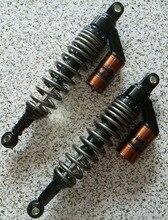 Amortiguadores universales de 340mm, 350mm, 360mm y 8mm para Honda/Yamaha/Suzuki/Kawasaki/Dirt bikes/ Gokart/ATV/motocicletas y Quad.