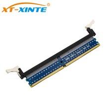 XT-XINTE DDR4 288Pin адаптер DDR4 Тестовая карта памяти печатная плата DDR4 карта адаптера для настольного ПК