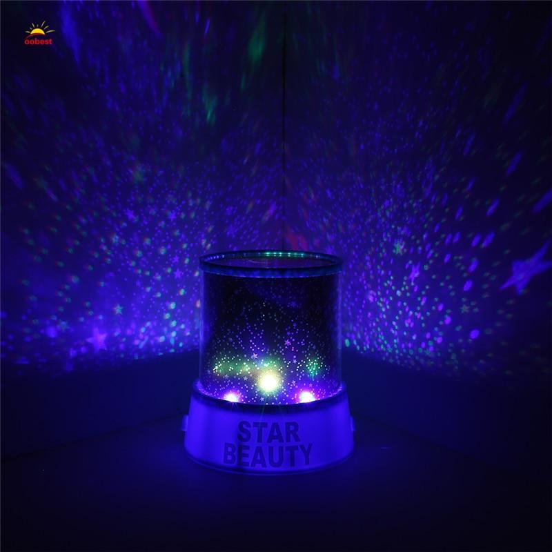 Luzes da Noite light kid chidren projector lamp Geração de Energia : Mudar