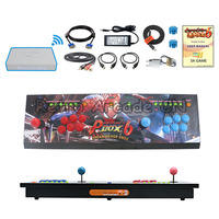 3A Game Original Pandora's Box 6 1300 in 1 wireless arcade joystick 2 players iron console HDMI VGA usb for pc tv ps3 Tekken