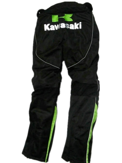 2018 Summer MOTOGP Racing Pants For Kawasaki Team Green Motorcycle protective pants Off-Road Dirt Bike motorbike DH MX BMX Trous
