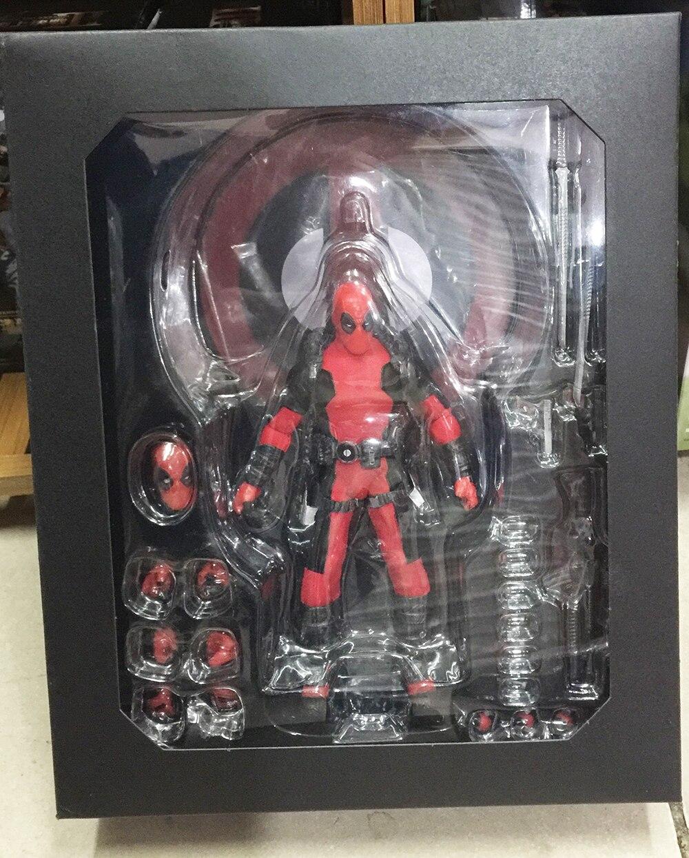 Marvel Super Hero Deadpool X-Men Mezco One 12 Action Figures Toys  (14)