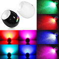D1U# White and Black 256 Living Color LED Atmosphere Mood Light Touch Scroll Bar Lamp