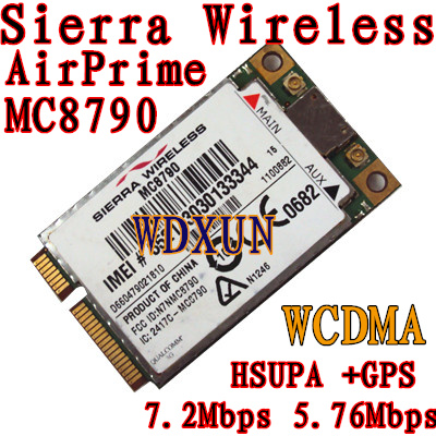 Sierra Wireless AirPrime MC8790 7.2Mbps 5.76Mbps HSUPA +<font><b>GPS</b></font> Unlocked image