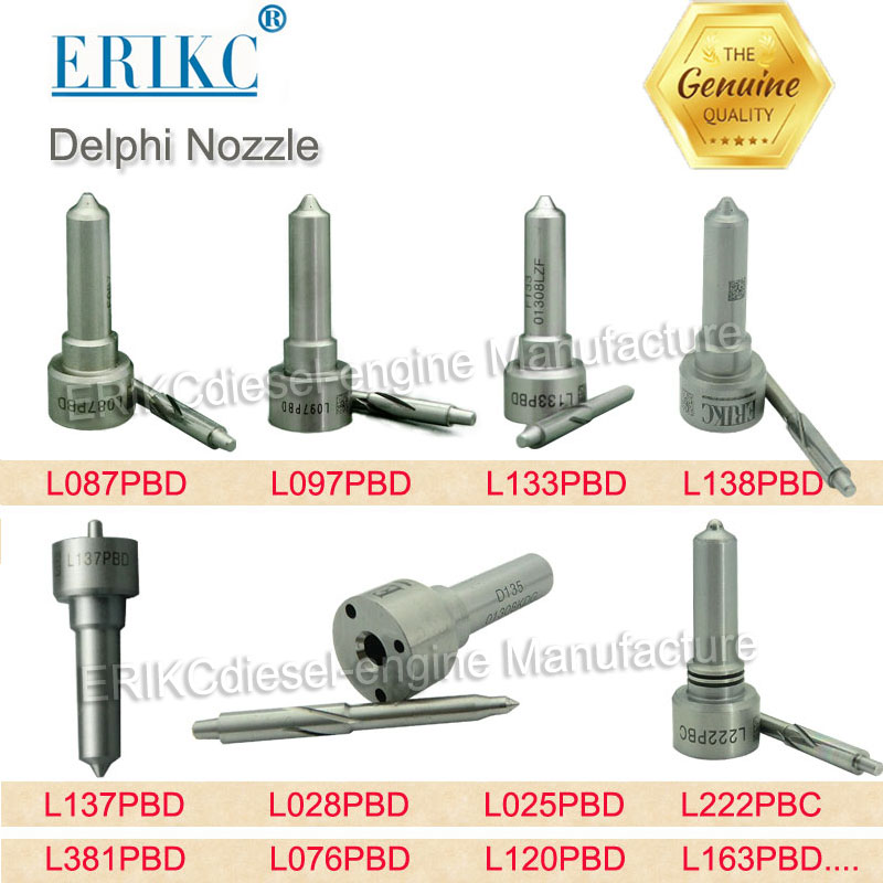 ERIKC l121pbd l087pbd l097pbd l133pbd l138pbd l137pbd l028pbd l025pbd l281pbd l222pbc l120pbd l381pbd l076pbd for DELPHI NOZZLE-in Fuel Injector from Automobiles & Motorcycles
