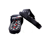 Ball Barbed Shoe Sandal Reflex Massage Slippers Rotating Massage Acupuncture Foot Healthy Massager Shoes