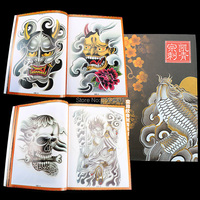 Оптовая продажа Бесплатная доставка татуировка Книга журнал A4 Размер 1 шт. для татуировки с поставщиком