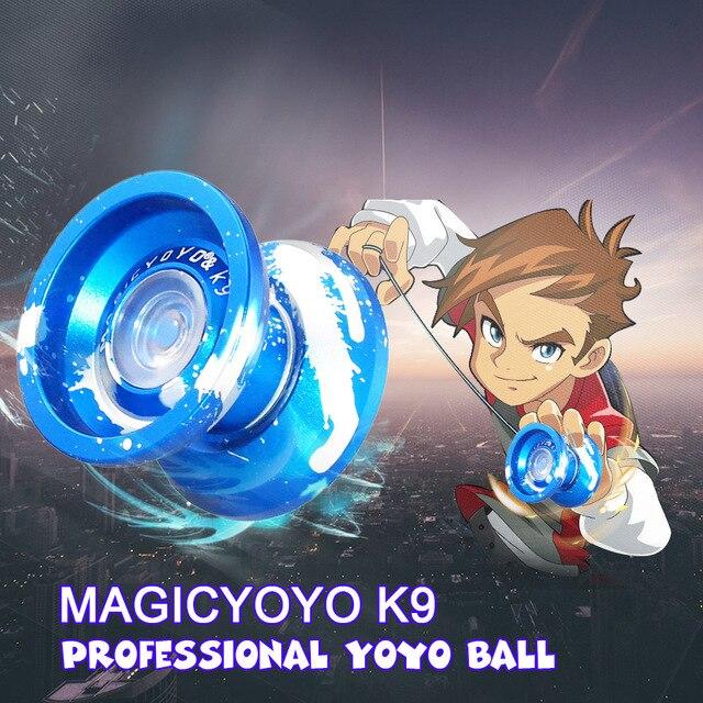 8 Ball KK Bearing Classic Magic Yoyo Toys K9 Polished Alloy Aluminum Professional Yoyo Ball High Precision Game Auldey Yoyo Toys