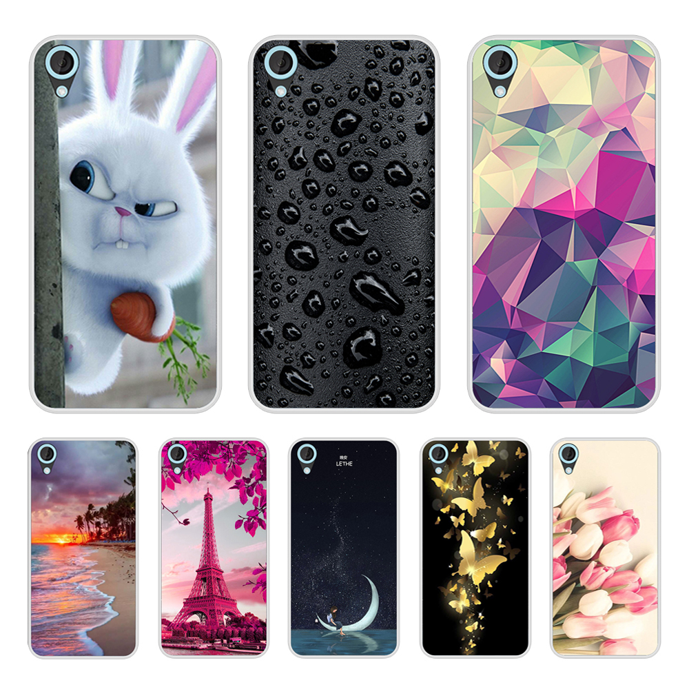 Case Cover For HTC Desire 820 Soft Silicone TPU Cool Pattern Print For HTC Desire 820 Phone Cases image