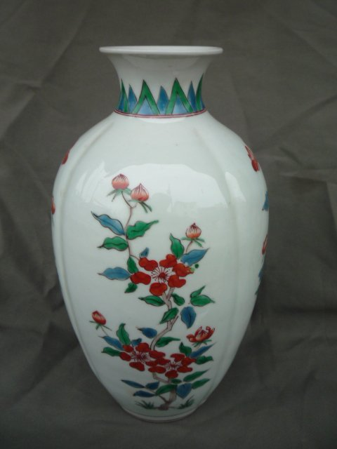 Old Qing Dynasty Colorful porcelain vase,Hand painting,best - Home Decor - Photo 5