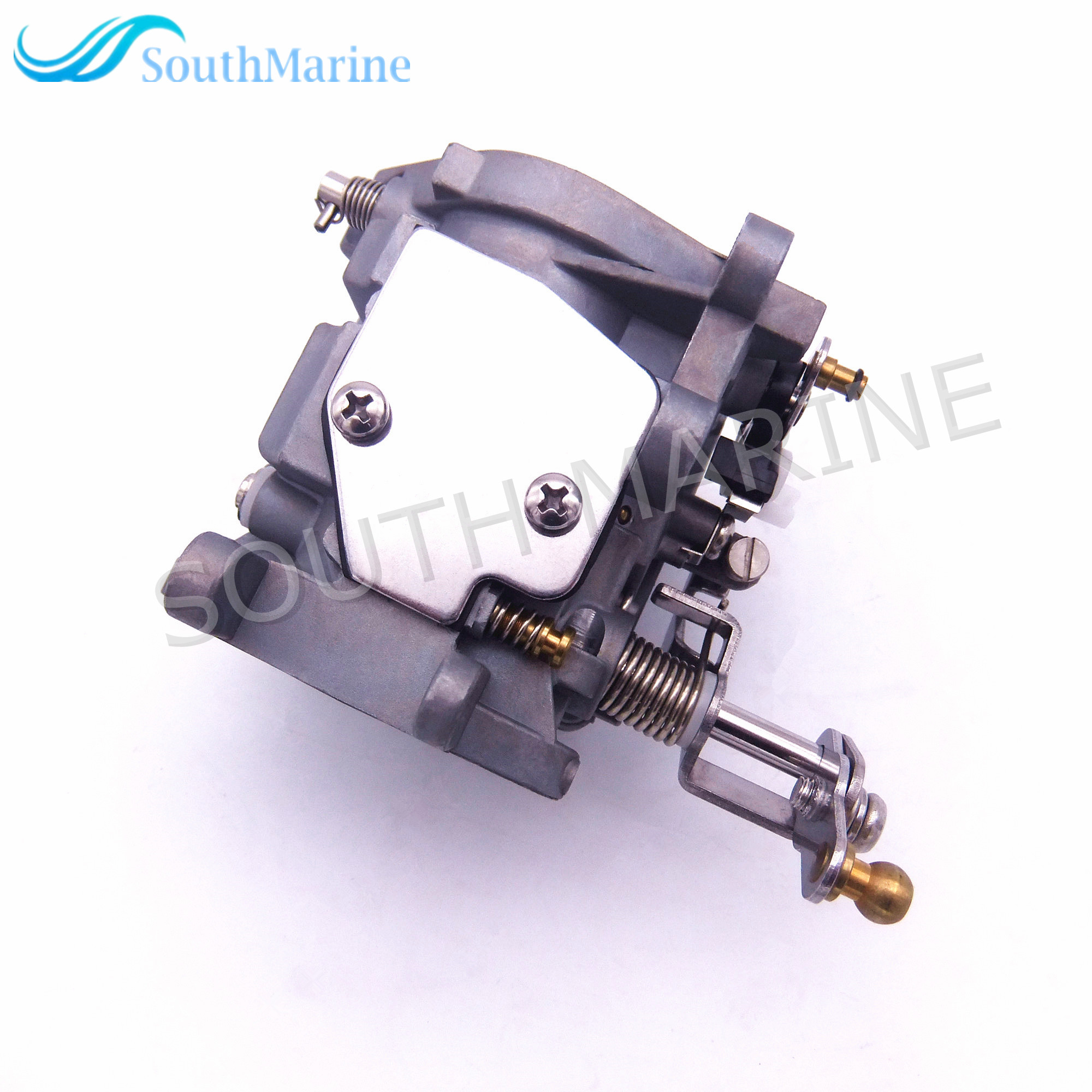Outboard Engine Boat Motor Carburetor Assy 69P-14301-00  69S-14301-00  for Yahama 2-stroke E25B E30H  25B 30H Free Shipping aluminum water cool flange fits 26 29cc qj zenoah rcmk cy gas engine for rc boat