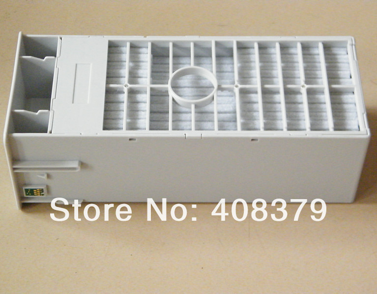 Maintenance tank  with chip for Ep 9700 7700 9710 7710 printer maintenance tank chip resetter for epson for epson 7700 9700 7710 9710 printer