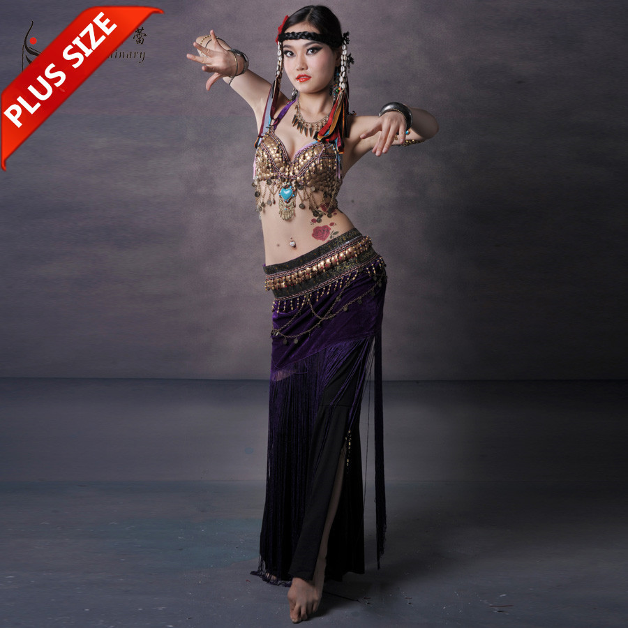Tribal Belly Dance Costume Stage Performance Plus Size Tribal ...