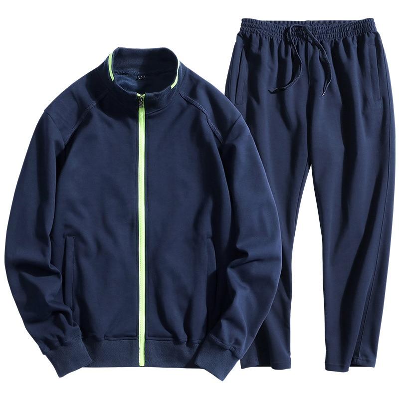 DIMUSI hiver vêtements de sport pour hommes ensembles survêtement vêtements pour hommes Sweatshirts hommes gros Loosse vestes à capuche vêtements 6XL 7XL 8XL, TA239 - 2