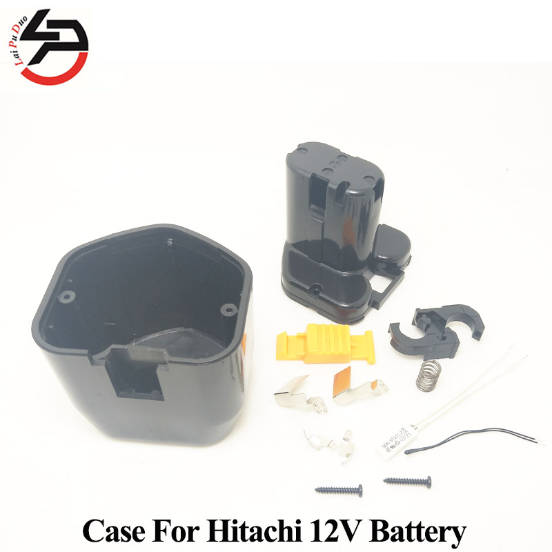 12V EB1214 NI-MH/NI-CD Replacement Battery Plastic Case for Hitachi (No Cells Inside) EB1224 EB12B EB12G FEB12S