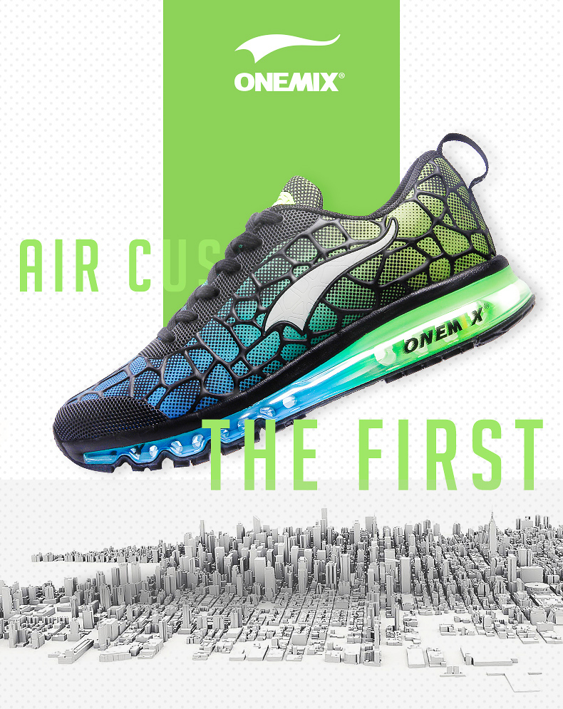 Hot onemix 17 Men Air Running Shoes Outdoor sport shoes Breathable Mesh Walking Sneakers Lightweight Breathable Athletic Shoes 3