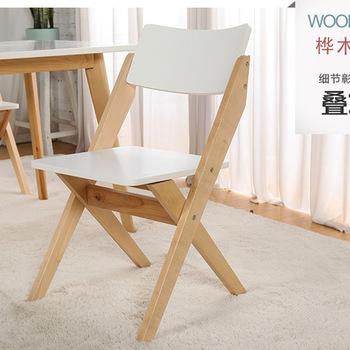 Krzesła hotelowe meble hotelowe meble komercyjne żelazo z litego drewna europejski styl nowoczesny 46 5*46 5*81cm hurtownia hot składany tanie i dobre opinie Krzesło hotelowe Nowoczesne Ecoz