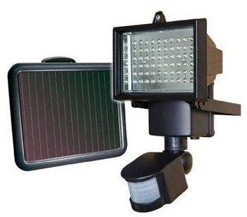 Colorpaiบ้าน60 LEDพลังงานแสงอาทิตย์แสงโคมไฟพลังงานแสงอาทิตย์แสงสปอตไลผนังโคมไฟตรวจจับการ
