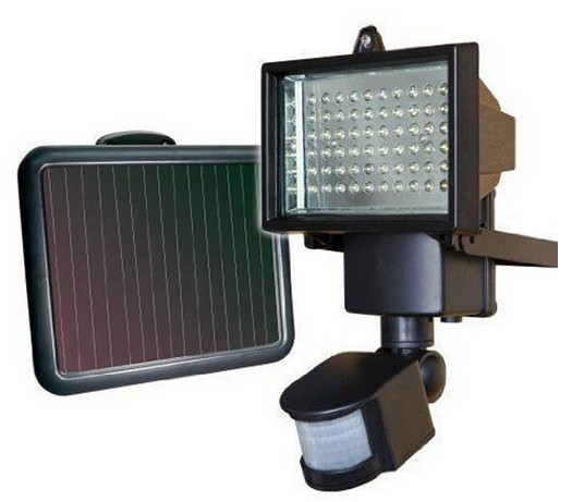 Colorpai Home 60 LED Solar Light Solar Lamp Light Spotlight Wall Lamps Motion Lamp Floodlight