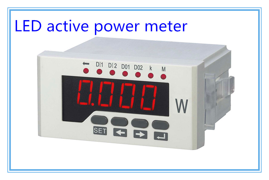 цены  Single phase digital active power meter LED power meter,digital panel meter,wattless power meter