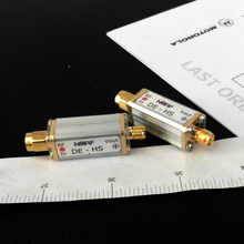 Free shipping DE-HS High sensitivity broadband microwave coaxial RF detector, 0.01~3GHz (9GHz)