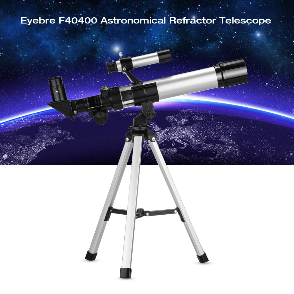 Eyebre F40400 90X Monocular Professional Space Astronomic Telescope with Tripod Portable Astronomical Refractor Telescope gskyer telescope 600x90mm az astronomical refractor telescope german technology scope power astronomical mirror telescope