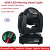 2017 Newest 60W LED Moving Head Light DMX DJ Disco Party Wedding Stage Effect Fixture 60W