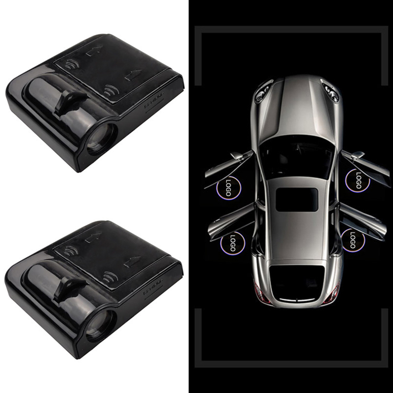 1pcs Car Door Welcome Light Laser Projector Logo Ghost Shadow LED Light for BMW Toyota Audi Kia Nissan Ford Mazda Chevrolet Renault