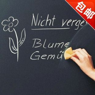 Blackboard child wall sticker chalk