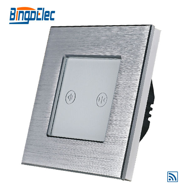 EU/UK silver remote curtain window switch, roller shutter switch, AC110-240V,Hot sale цена