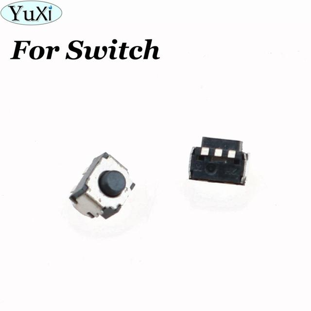 YuXi LR Button Key Press Microswitch for Nintend Switch L Keys On-Off R Buttons Disjunctor for Switch NS Console Micro Switch