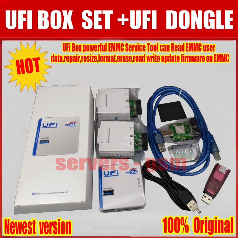 US $416 09 |2019 Newest 100% ORIGINAL UFI BOX powerful EMMC Service Tool+  UFI DONGLE Free shipping-in Telecom Parts from Cellphones &
