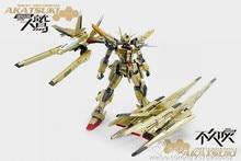 משלוח חינם הדרקון מומוקו זהב ORB 01 Akatsuki Gundam דגם 1:100 MG ציוד מלא