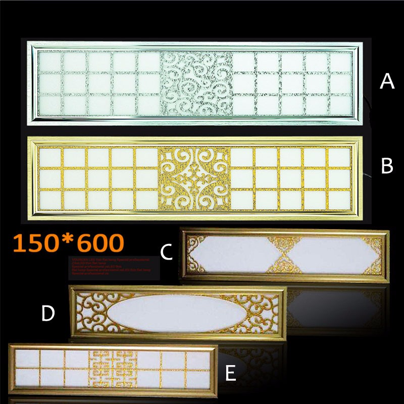 15pcs/lot 3 years warranty 600*150 30W led panel light lamp ac85-265v Square LED Ceiling Lights Decor For Home Kitchen elephone w1 bluetooth v3 0 0 49 oled smart bracelet watch w call reminder stopwatch rose gold
