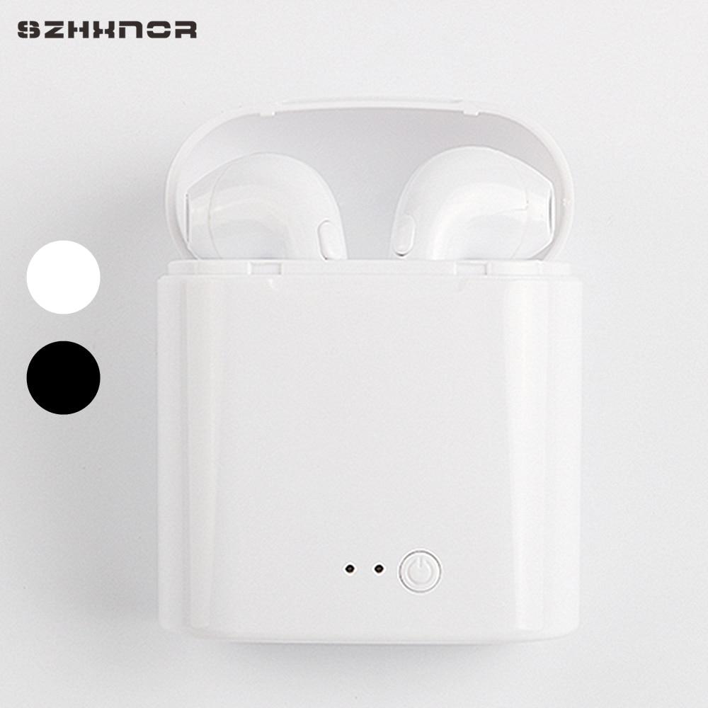 I7s Tws Wireless Earpiece Bluetooth Earphones I7 Sport Earbuds Headset With Mic For Iphone 7 Xr X Xiaomi 3s 9 9t Samsung Huawei Bluetooth Earphones Headphones Aliexpress