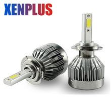 2 Pcs H4 Led Voiture Ampoule 30 W 6000Lm 6000 k Led Phare H7 H13 H1 H11 5202 9007 9012 COB Puce Automobiles Projecteur C1 12 V(China)