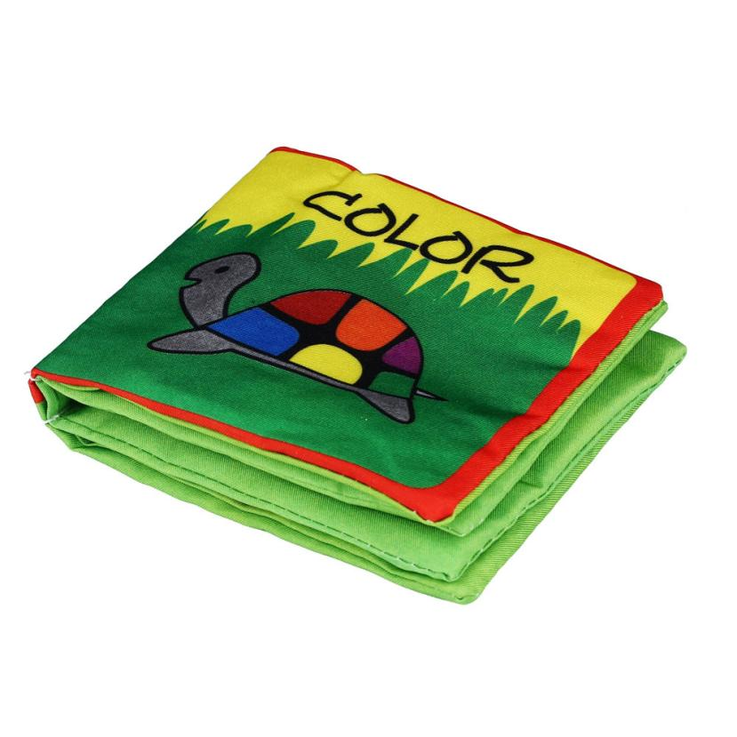 Soft Cloth Baby Intelligence Development Learn Picture Cognize Book Levert DropshipSoft Cloth Baby Intelligence Development Learn Picture Cognize Book Levert Dropship