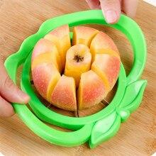Кухонный аксессуар из нержавеющей стали для резки яблок, инструменты для овощей и фруктов, слайсер для яблок, гораздо безопаснее, легко висящий резак