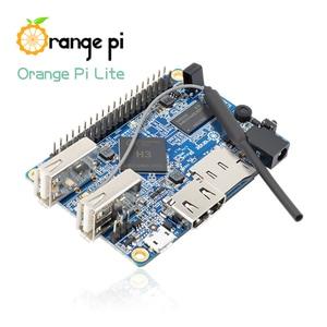 Image 4 - Arancione Pi Lite 512MB DDR3 con Quad Core 1.2GHz antenna WiFi di Sostegno del Android, Ubuntu Immagine