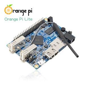 Image 4 - Orange Pi Lite 512MB DDR3 مع معالج رباعي النواة 1.2GHz واي فاي هوائي دعم أندرويد ، صورة أوبونتو