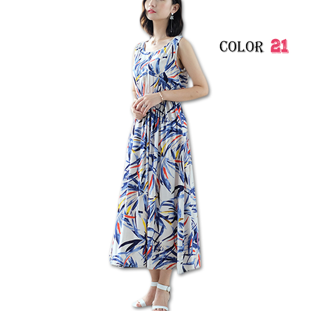 b5d3eb0fa7d56 Women Summer Bohemian Dress 2018 Ladies Maxi Casual Floral Beach ...