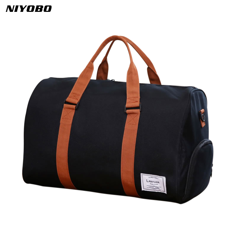 2018 Large Capacity Women Luggage Travel Duffle Bag 35L/25L Weekend Bag Multifunctional Men's Traveling Shoulder Bag