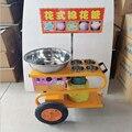 220В 120 Вт необычная машина для конфет из хлопка с вентиляционными отверстиями Коммерческая тележка типа газовая электрическая машина для ко...