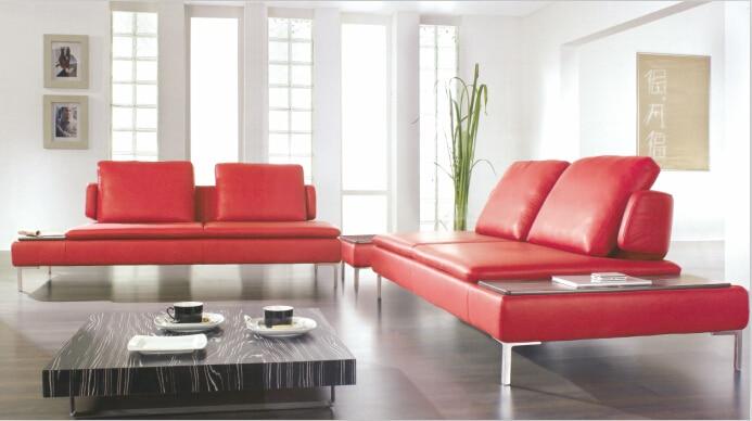 Acquista all'ingrosso Online rosso mobili in pelle da Grossisti ...