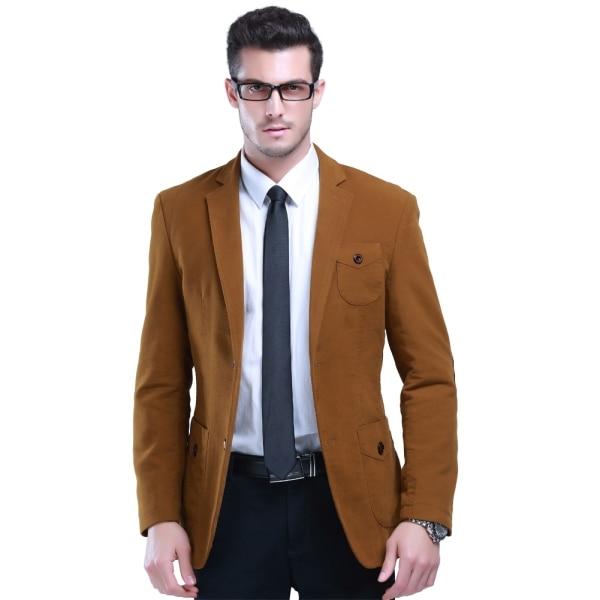 2015 England Style Men Dress Suit Solid Color Wedding Blazer Size ...