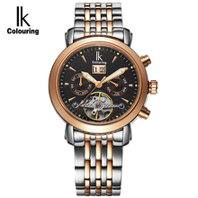 Top Brand IK Luxury Mens font b Watches b font Automatic Mechanical font b Watch b