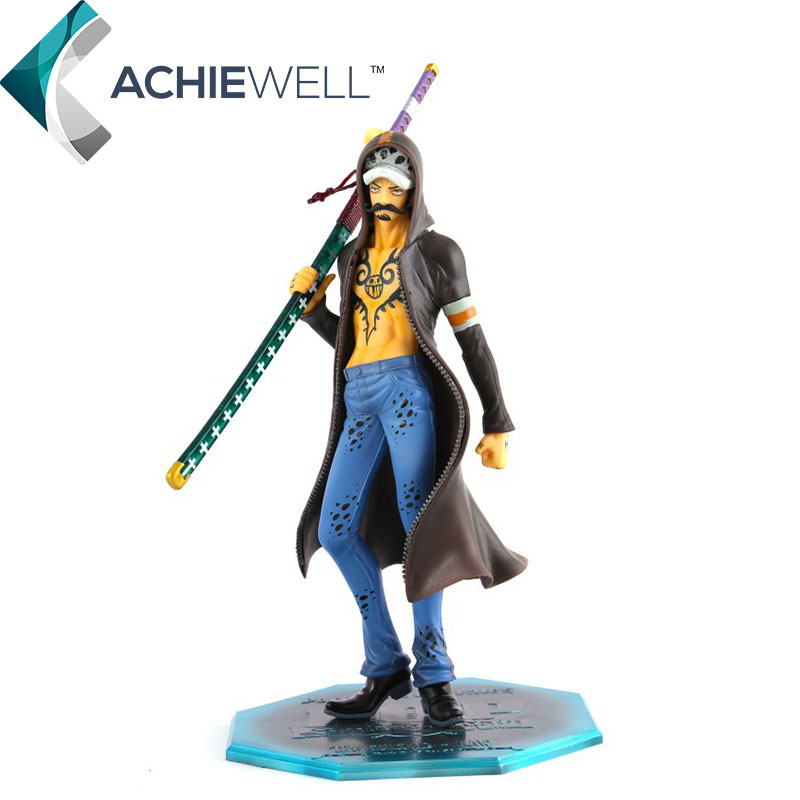 ФОТО Anime One Piece New World Figuarts Zero Trafalgar Law Action Figure Cartoon Model 12th Anniversary Toys For Kid Gift Collection